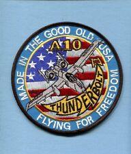 REPUBLIC A-10 THUNDERBOLT WARTHOG FFF USAF TFS FS Fighter Squadron Jacket Patch