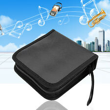 40 Disc CD/DVD DJ Video Storage Carry Case Organizer Bag Media Wallet Holder US