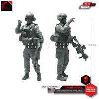 Kneeling Gun MDF Soldiers warhammer 40k wargame Infinity wargames hobby