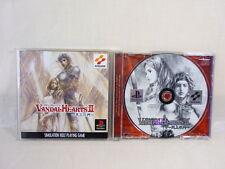 VANDAL HEARTS II 2 Tenjo no Mon PlayStation PS Konami Import Japan Game p1