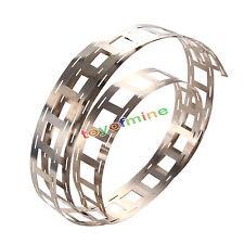 1m 0.15 T Ni Plate Nickel Strip Tape for 18650 Li-Ion Battery Spot Welding