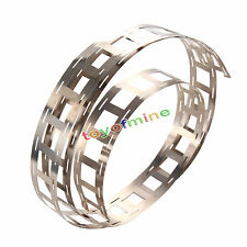 1m 0.15 T Pure Ni Plate Nickel Strip Tape for 18650 Li-Ion Battery Spot Welding