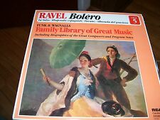 RAVEL-BOLERO-LP-NM-FUNK & WAGNALLS ALBUM 5-LIBRARY OF GREAT MUSIC