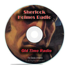 Sherlock Holmes Radio Mysteries, 755 Old Time Radio Shows, Detective mp3 DVD G79