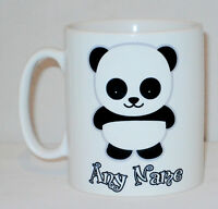 Cute Panda Mug Can Be Personalised Any Name Great Funny Gift Coffee Tea Cup
