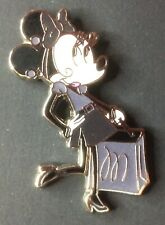 New listing Disney Minnie Mouse shopping in black and white pin