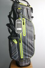 NEW OUUL WATERPROOF STAND BAG LIGHTWEIGHT CARRY BAG FOR WINTER GREY/GREEN