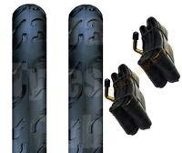 (Pair of) Quinny Buzz 3 -  Pram Tyres & Tubes 12 1/2 X 2 1/4  Slick / Smooth