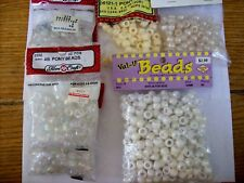 Vintage Plastic Craft Beads - Lot of 7 Packages - SEALED