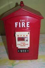 Randix FB-911 Fire Alarm Phone Novelty Push Button Telephone Call Box