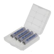 8x eneloop Akku Panasonic (zuvor Sanyo)  AAA Micro  HR03(BK-4MCCE) + 2x Akkubox