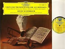 136 549 TULIP SCHERBAUM/KUENTZ virtuoso music for trumpet from bohemia LP EX/EX