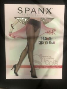 SPANX Haute Contour Tights Stunning Shaping Sheers Pantyhose 1426