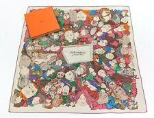 AUTH HERMÈS 2014 Pristine Rare 90cm In Box Silk Scarf METAMORPHOSES PAR HERMÈS