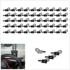50 Pcs Plastic Car SUV 3M Self-Adhesive Adjustable Clip Fastens Fixed Cable Wire