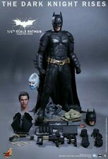 HOT TOYS 1/4 SCALE QS 001 THE DARK KNIGHT RISES CHRISTIAN BALE BATMAN FIGURE