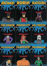 Animation Batman Trading Cards