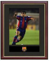Romario Mounted Framed & Glazed Memorabilia Gift Football Soccer