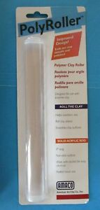ACRYLIC POLYMER CLAY ROLLER Sculpey Rolling Pin Craft Tool