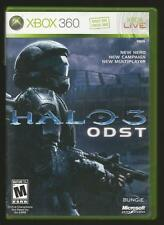 Halo 3: Odst (Microsoft Xbox 360, 2009) Fps Bungie Free Shipping