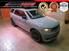 2019 Dodge Durango Gt Plus Blacktop Ed. Dvdx2, S.Roof, Nav!