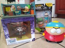 South Park lot Coon mobile Classroom set loose Cartman carded Kyle Mezco Ike