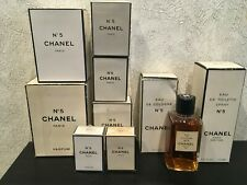 RARE VINTAGE❤️CHANEL 5 PERFUME & EDT & EDC different options
