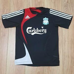 Liverpool Football Club Vintage Adidas Training Shirt - Large Boys - 13-14 years