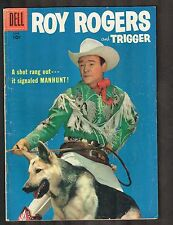 Roy Rogers and Trigger #114 ~ 1957 (5.5) Wh