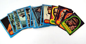 Star Wars Lot 36 Topps Trading Cards and Stickers Series 1 1977 Rare Vinatge