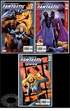 ULTIMATE FANTASTIC FOUR #21,22,23(1st & 2nd FULL MARVEL ZOMBIES)CGC 'EM(SET OF 3