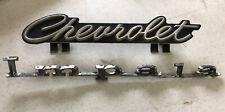 Vintage Original 1965-67 Chevrolet Emblem Impala Emblem Insignia Set
