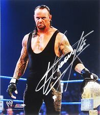 WWE UNDERTAKER HAND SIGNED AUTOGRAPHED PHOTOFILE PHOTO WITH EXACT PIC PROOF 9