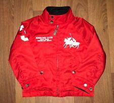 Polo Ralph Lauren Kids Jacket Coat Big Logo #3 Mercel Club Size 4T