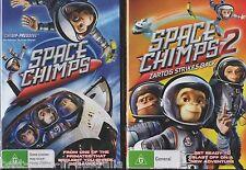 SPACE CHIMPS 1+2: Zartog Strikes Back DVD 2-MOVIES BRAND NEW CHIMP ASTRONAUTS R4