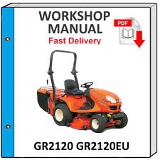 KUBOTA GR2120 GR2120EU SERVICE REPAIR WORKSHOP MANUAL