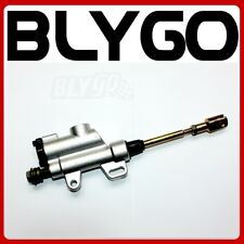 SILVER 10mm Banjo Bolt Rear Hydraulic Brake Master Cylinder PIT Trail Dirt Bike