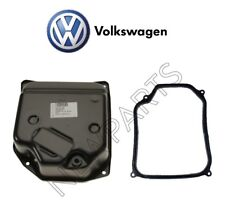 For VW Beetle Cabrio Golf Jetta Set of AT Transmission Oil Pan & Gasket Genuine