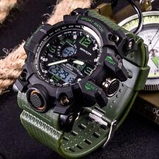 Sanda Men Digital Wrist Watches LED Military Outdoor Sport Waterproof Watch NEW