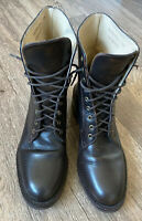 GAP Brown Leather Lace Up Boots Uk 5 Us 7.5