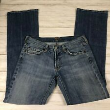 Women's 7 for All Mankind Bootcut Jeans sz 28 light wash denim pants