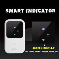 4G Wifi-Router Car Mobile Hotspot Wireless Broadband Pocket Mifi Unlock