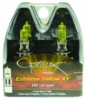 Optilux H71070662 XY Series H3 12V/55W Xenon Yellow Halogen Bulb Set