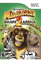 Madagascar: Escape 2 Africa Nintendo Wii Kids Game Works On U To