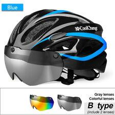 Bicycle Helmet Mtb Road Cycling Riding Bike Sport Lightweight Safety Helmet Blue