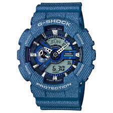 CASIO G-SHOCK Limited Edition Denim Pattern Watch GShock GA-110DC-2A