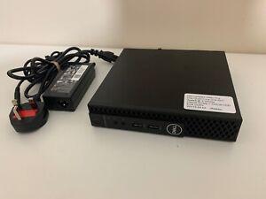 Dell OptiPlex 3060 Tiny Desktop PC Intel i3-8100T 8GB DDR4 256GB NVMe + 500GB HD