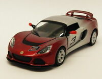 2012 Lotus Exige S - Red - Kinsmart Pull Back & Go Diecast Metal Model Car