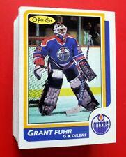Huge Lot of 76 1986-87 O-Pee-Chee Hockey Cards No Dups NM+