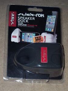 VIBE Slick-Rok Speaker Dock Music Amplifier for iPhone 4/S